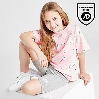 Nike Ensemble T-Shirt/Short Cycliste Swoosh Enfant