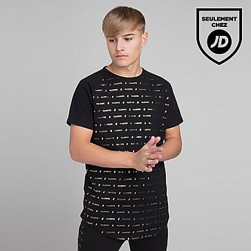 ILLUSIVE LONDON T-Shirt Black Gold Junior