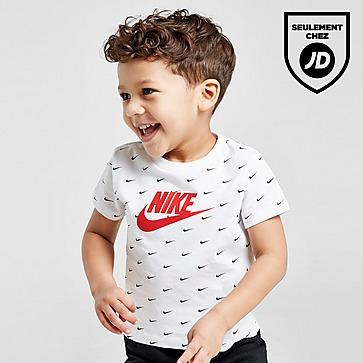 Nike Ensemble Shirt / Short Swoosh All Over Bébé