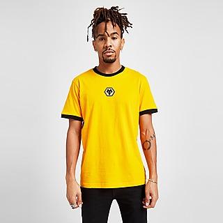 Official Team T-shirt Wolverhampton Wanderers FC Crest Logo Homme