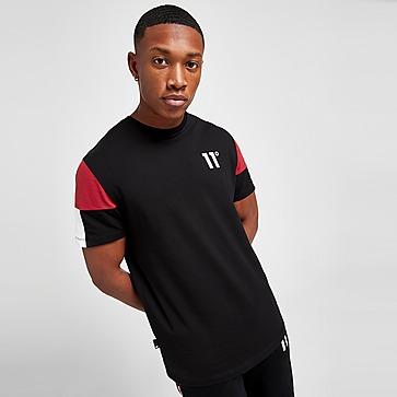 11 Degrees T-shirt Carbon Colour Block Homme
