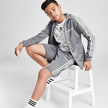 adidas Originals Sweat à Capuche 3-Bandes Tape Full Zip Junior