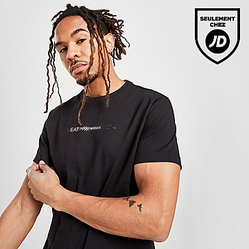 Emporio Armani EA7 T-shirt Carbon Stripe Homme