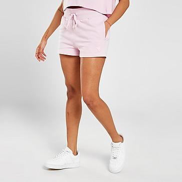 GUESS Short en Molleton Logo Triangle Femme