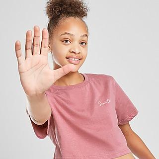 Sonneti Girls' Essential Crop T-Shirt Junior