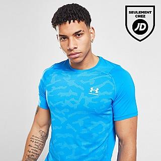 Under Armour T-Shirt HeatGear Camo Homme