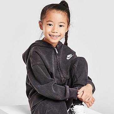 Nike Sweat à Capuche Zippé Délavé Filles Enfant