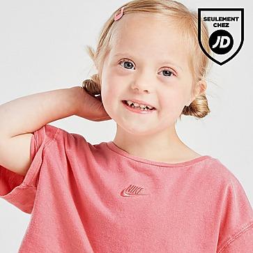 Nike Ensemble T-Shirt/Short Délavés Fille Bébé