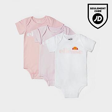 Ellesse Pack de 3 Combinaisons Amealio Bébé Fille