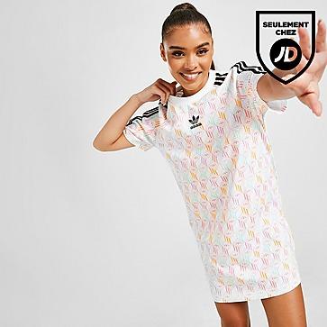 adidas Originals Robe T-Shirt Monogram Femme