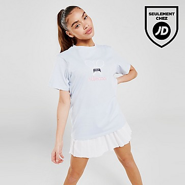 Ellesse T-Shirt Brodé Tennis Femme