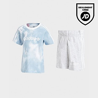 adidas Originals Ensemble T-Shirt/Short Tie Dye Bébé