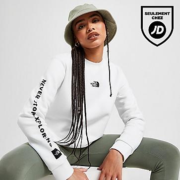 The North Face Logo Fleece Crew Sweatshirt