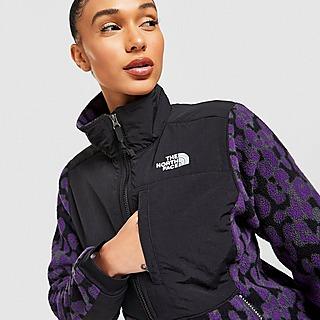 The North Face Denali Full Zip Leopard Print Fleece