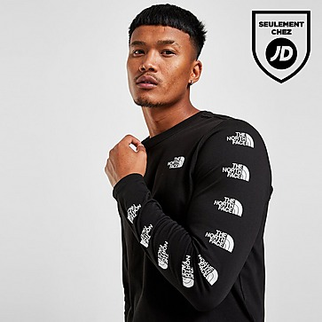 The North Face Repeat Long Sleeve T-Shirt