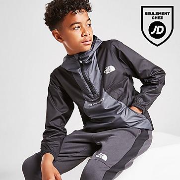 The North Face 1/2 Zip Hooded Lightweight Jacket Junior