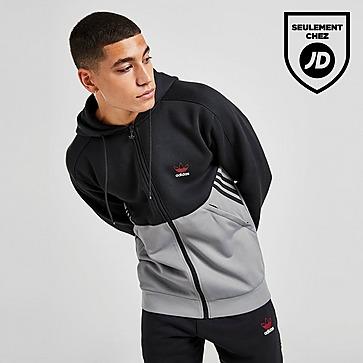 adidas Originals Sweat à Capuche Fusion Zippé Homme