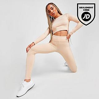 Pink Soda Sport Legging Ruched Femme