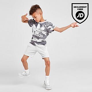 adidas Originals Ensemble T-Shirt/Short Camouflage Enfant