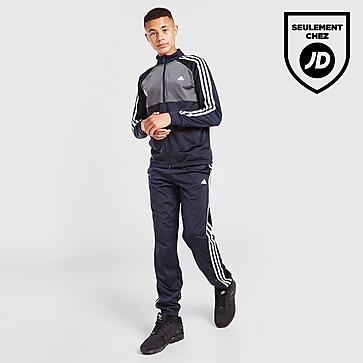 adidas Survêtement 3-Bandes Poly Zippée Junior