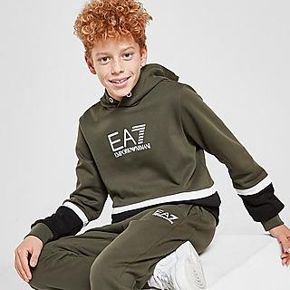Emporio Armani EA7 Sweat à Capuche Color Block Enfant