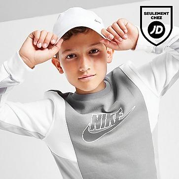 Nike Sweat-shirt Hybrid Fleece Crew Neck Junior