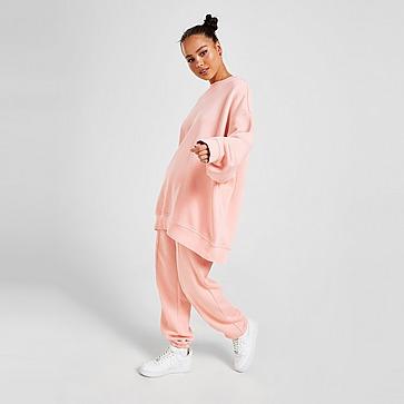 Nike Haut ultra-oversize en tissu Fleece Nike Sportswear Collection Essentials pour Femme