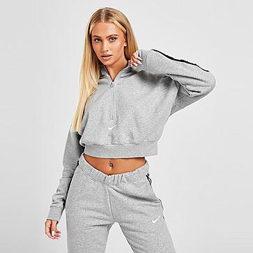 Nike Haut court en tissu Fleece Nike Sportswear Essential pour Femme