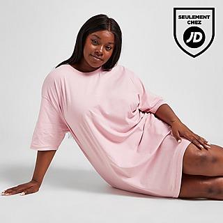 Pink Soda Sport Robe T-Shirt Grande Taille Essential Femme