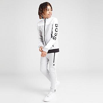 BOSS Colour Block Full Zip Fleece Junior