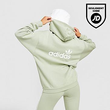adidas Originals 3-Stripes Linear Overhead Hoodie