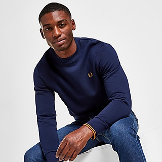 Fred Perry Sweat-shirt Twin Tipped Crew Homme