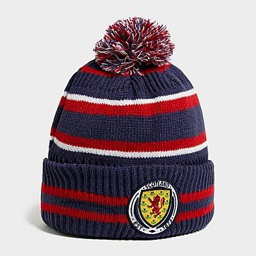 New Era Bonnet Scotland Pom Stripe