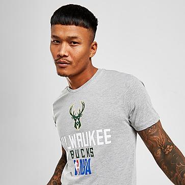 New Era T-Shirt Manches Courtes NBA Milwaukee Bucks Stack Homme