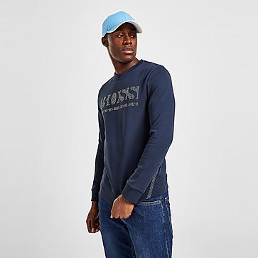 BOSS Salbo Iconic Pixel Crewneck Sweatshirt
