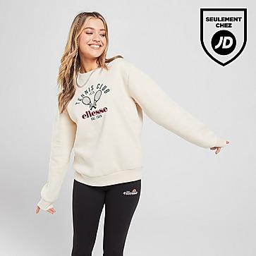 Ellesse Tennis Embroidered Crew Sweatshirt