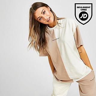 Supply & Demand T-Shirt Splice Boyfriend Femme