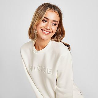 Nicce Sweat-shirt Embroidered Logo Crew Neck Femme