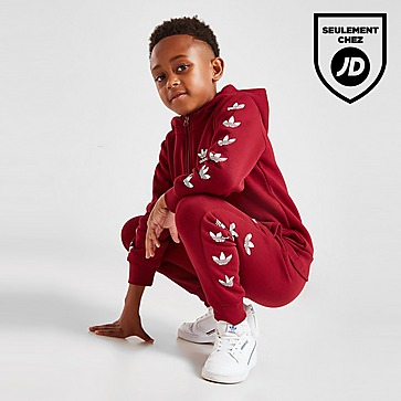 adidas Originals Survêtement Repeat Trefoil 1/4 Zip Enfant