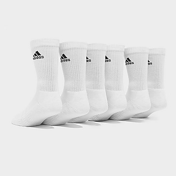 adidas 6 Pack Badge of Sport Cushioned Crew Socks