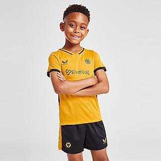 Castore Wolverhampton Wanderers FC 21/22 Home Kit Children