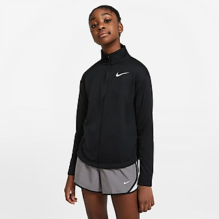 Nike Top Running 1/2 Zip Longues Manches Junior Fille