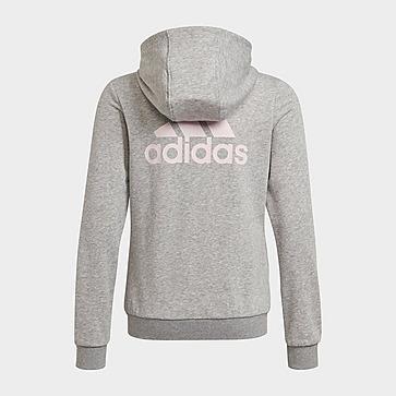 adidas Girls' Badge of Sport Full Zip Hoodie Junior