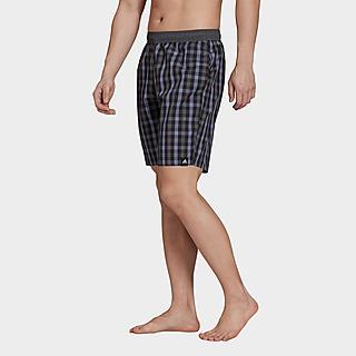 adidas Short de bain Classic-Length Check