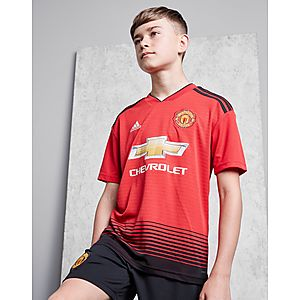 dc7efc76d adidas Manchester United FC 2018 19 Home Shirt Junior ...