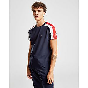 a6122c68 Tommy Hilfiger Contrast Tape Short Sleeve T-Shirt ...