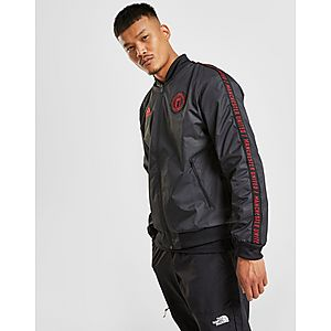 Hearty Adidas Manchester United 16-17 Anthem Jacket Track Top Training Soccer Football Activewear Tops