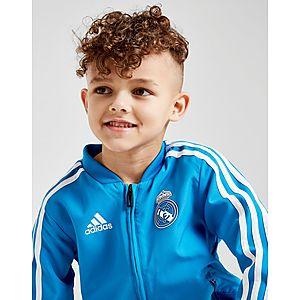 48060edcf adidas Real Madrid Presentation Tracksuit Children adidas Real Madrid  Presentation Tracksuit Children