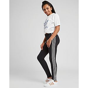 b8daafa15 ... adidas Originals Girls' Trefoil 3-Stripes Leggings Junior
