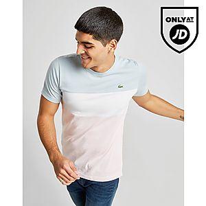 63a8644ac Lacoste Tri Colour Block T-Shirt ...